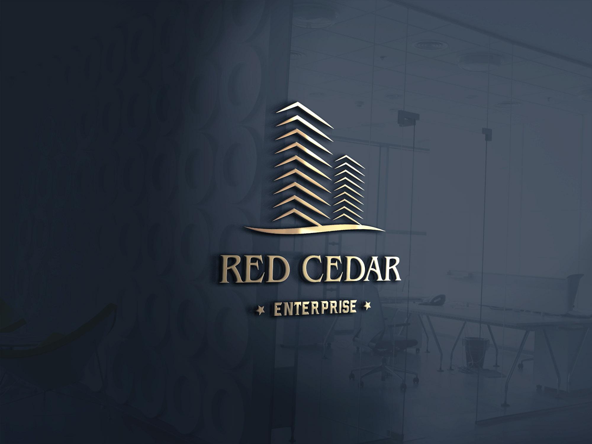 Logo Design by Umair ahmed Iqbal - Entry No. 30 in the Logo Design Contest Unique Logo Design Wanted for Red Cedar Enterprise.