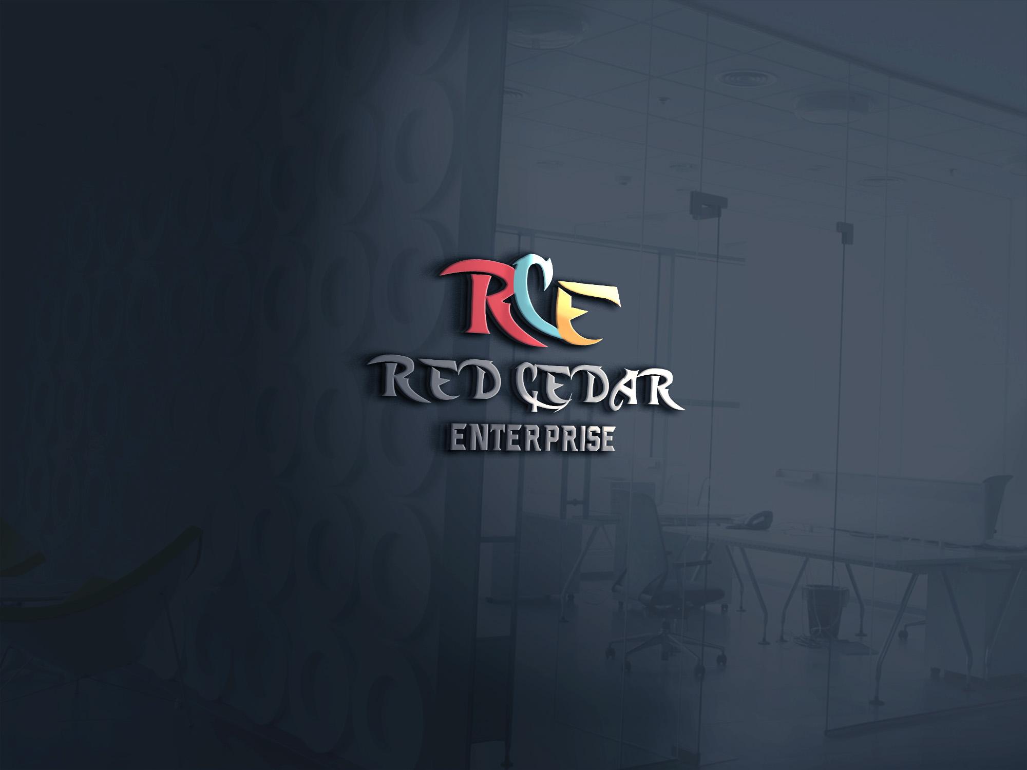 Logo Design by umair - Entry No. 39 in the Logo Design Contest Unique Logo Design Wanted for Red Cedar Enterprise.