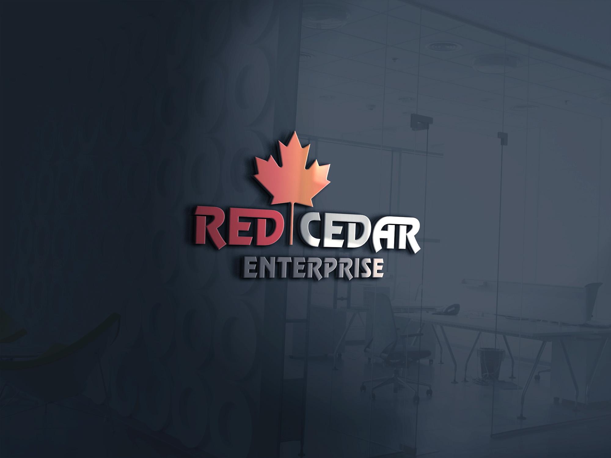 Logo Design by umair - Entry No. 41 in the Logo Design Contest Unique Logo Design Wanted for Red Cedar Enterprise.