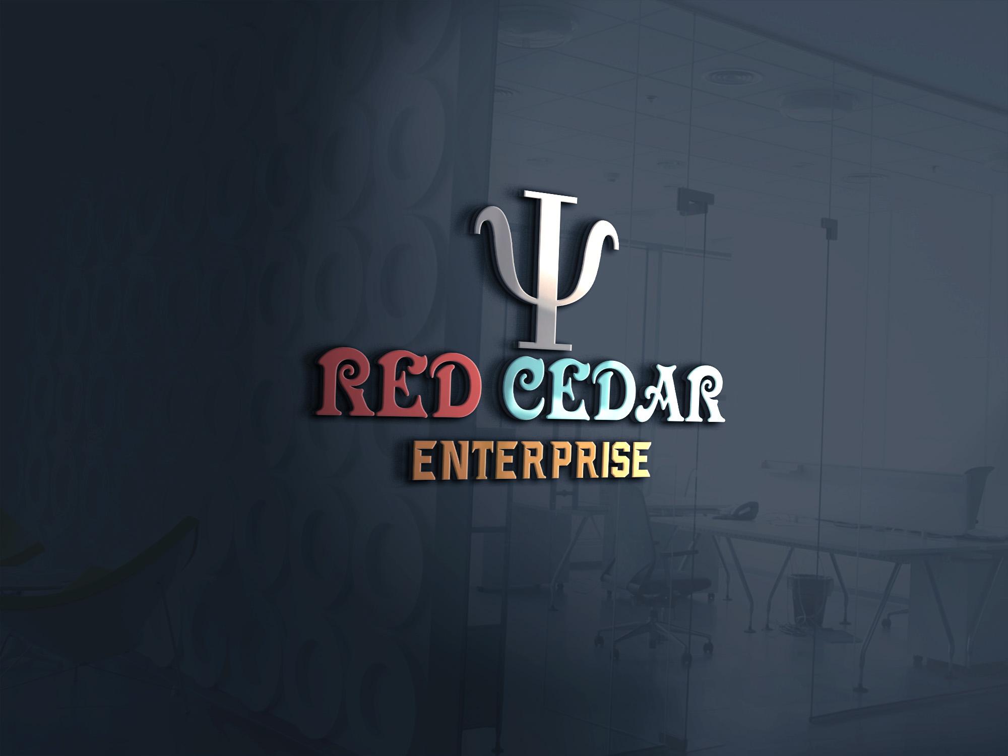 Logo Design by umair - Entry No. 42 in the Logo Design Contest Unique Logo Design Wanted for Red Cedar Enterprise.