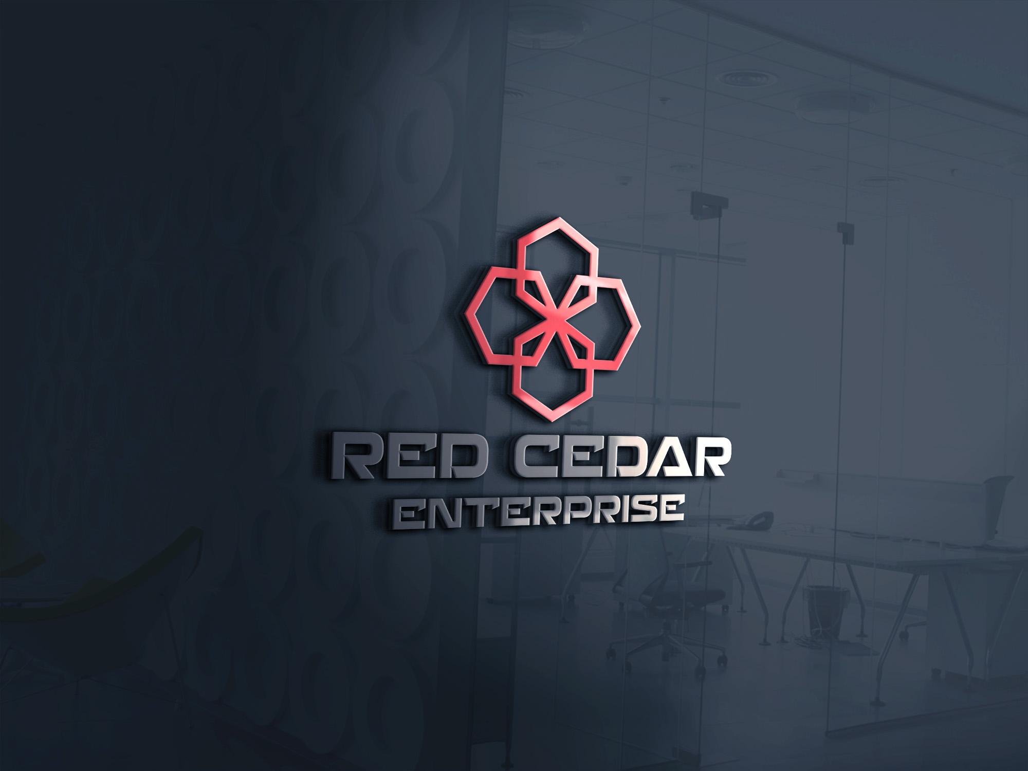 Logo Design by Umair ahmed Iqbal - Entry No. 44 in the Logo Design Contest Unique Logo Design Wanted for Red Cedar Enterprise.