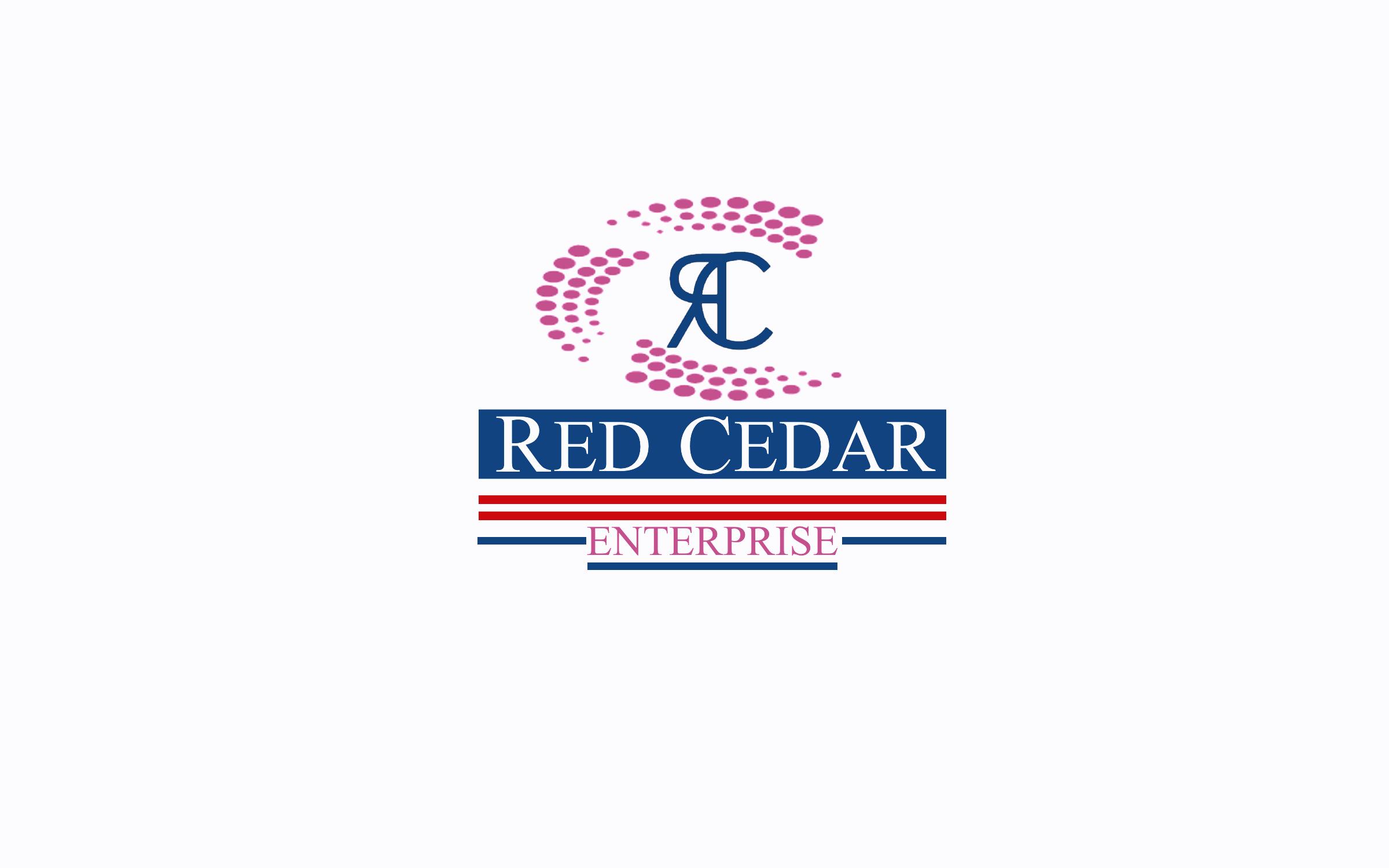 Logo Design by Roberto Bassi - Entry No. 50 in the Logo Design Contest Unique Logo Design Wanted for Red Cedar Enterprise.