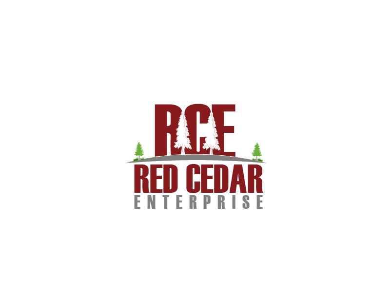 Logo Design by Private User - Entry No. 64 in the Logo Design Contest Unique Logo Design Wanted for Red Cedar Enterprise.