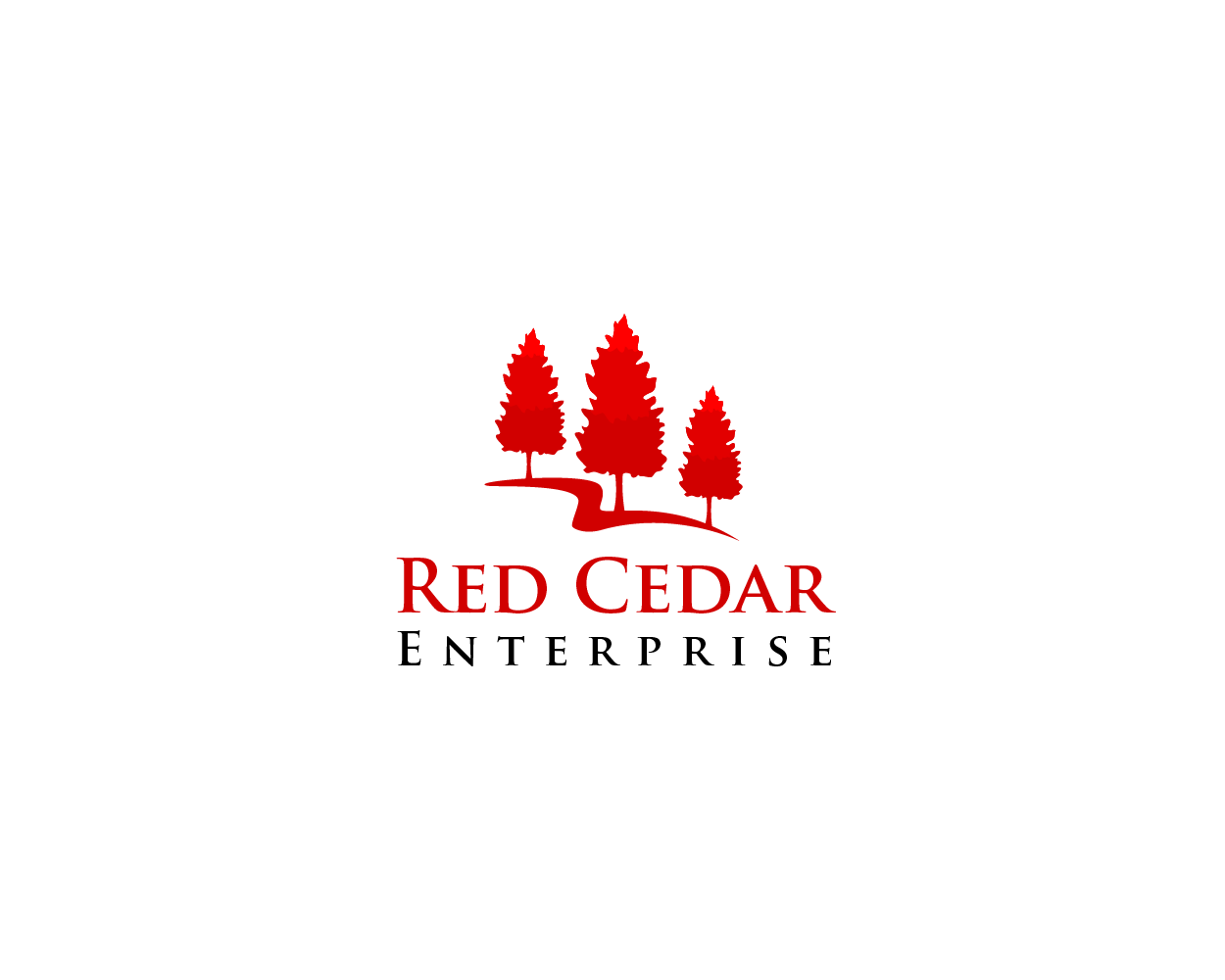Logo Design by Juan Luna - Entry No. 67 in the Logo Design Contest Unique Logo Design Wanted for Red Cedar Enterprise.