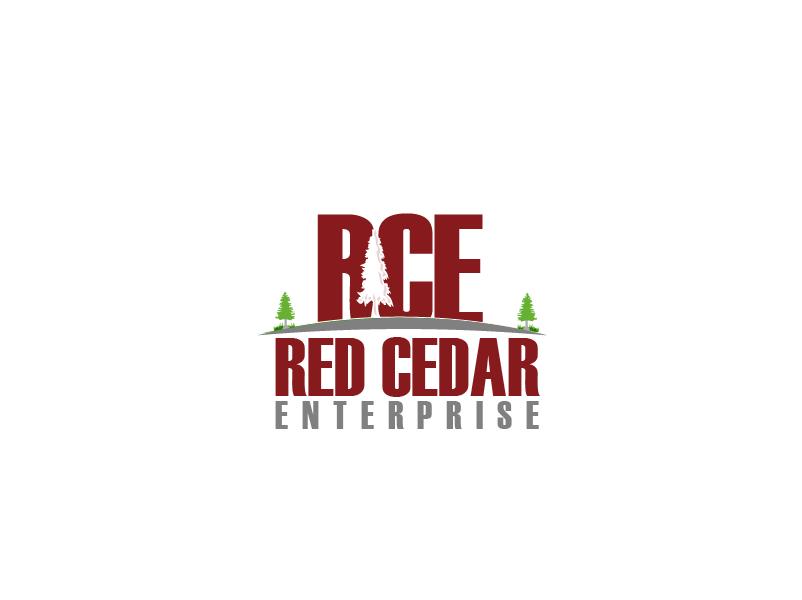 Logo Design by Private User - Entry No. 69 in the Logo Design Contest Unique Logo Design Wanted for Red Cedar Enterprise.