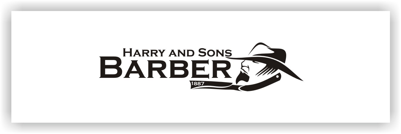 Logo Design by Joaquin Sampaio - Entry No. 6 in the Logo Design Contest Captivating Logo Design for Harry and Sons Barber.