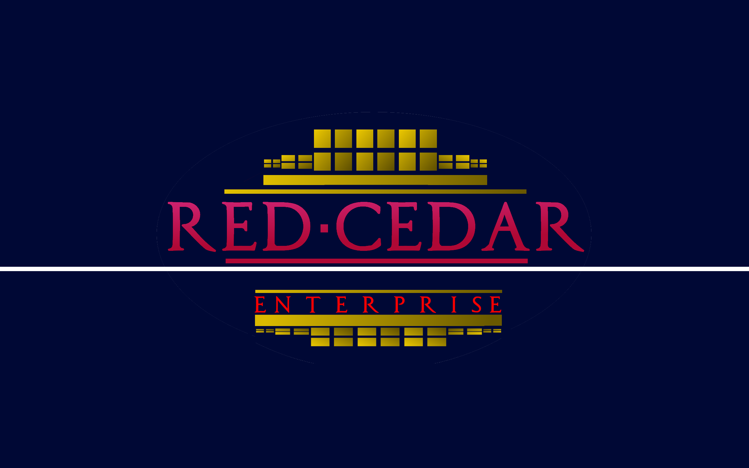 Logo Design by Roberto Bassi - Entry No. 79 in the Logo Design Contest Unique Logo Design Wanted for Red Cedar Enterprise.