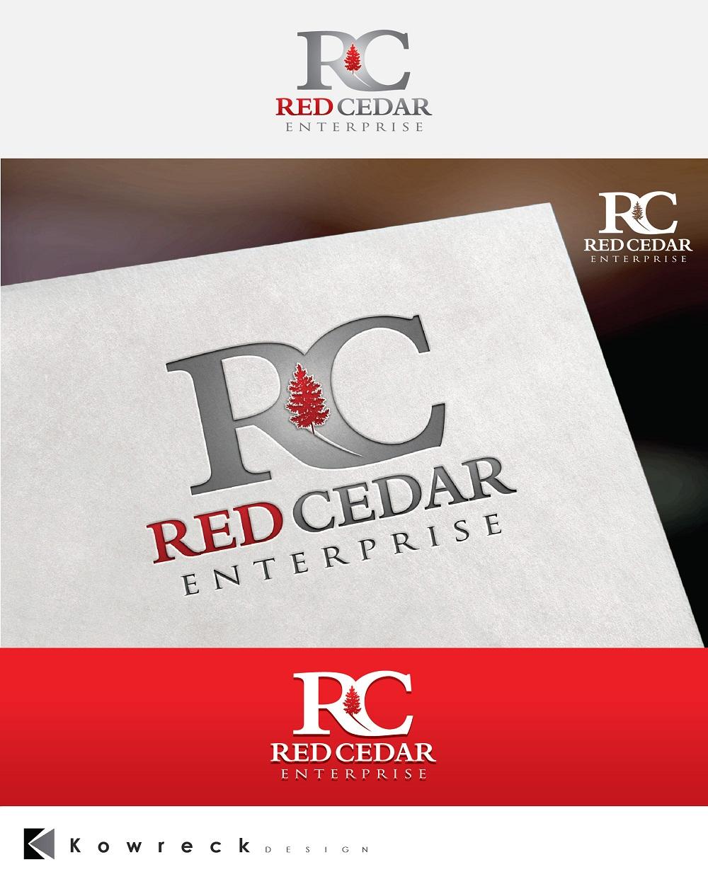 Logo Design by kowreck - Entry No. 80 in the Logo Design Contest Unique Logo Design Wanted for Red Cedar Enterprise.