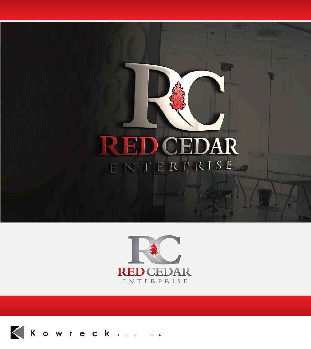 Logo Design by kowreck - Entry No. 84 in the Logo Design Contest Unique Logo Design Wanted for Red Cedar Enterprise.