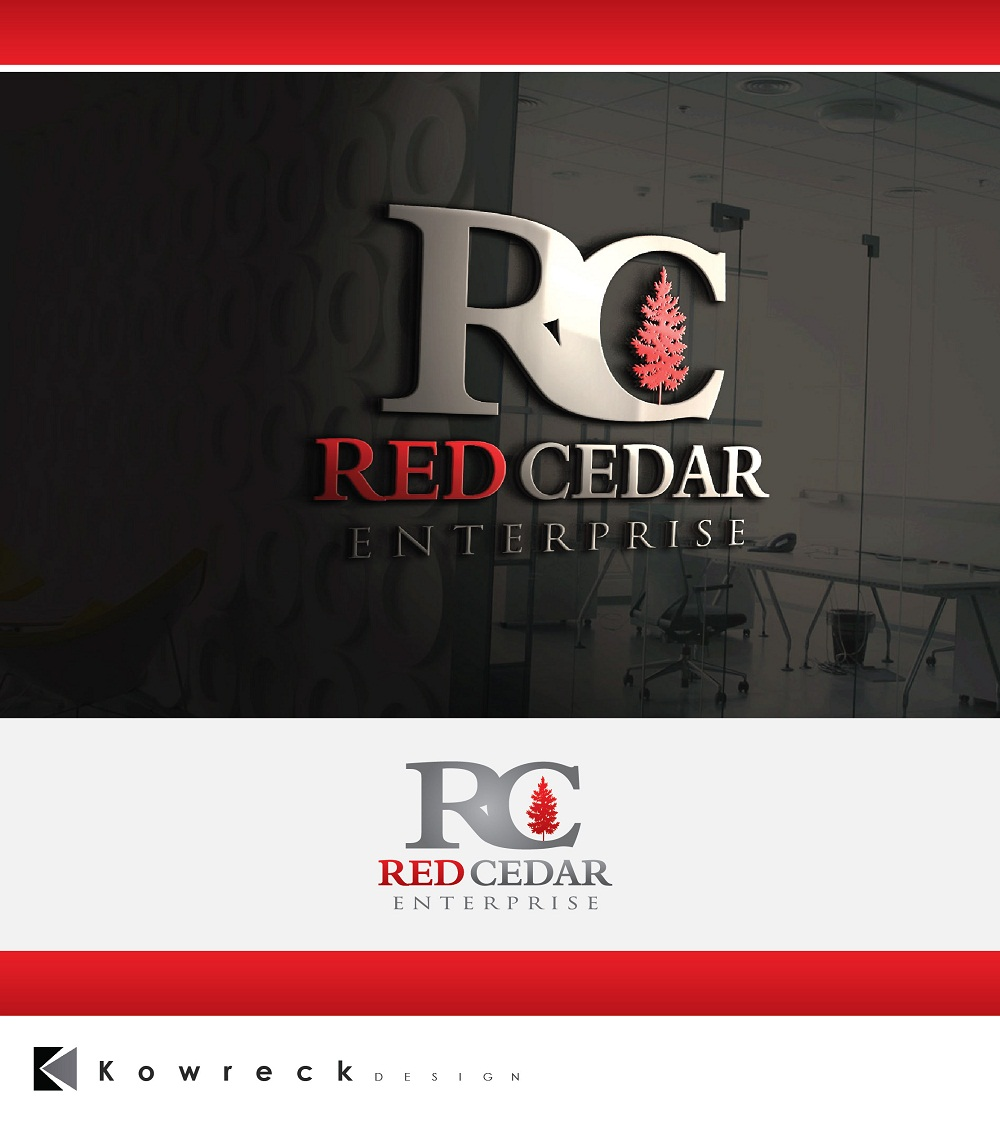 Logo Design by kowreck - Entry No. 85 in the Logo Design Contest Unique Logo Design Wanted for Red Cedar Enterprise.