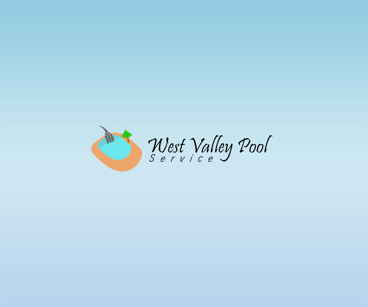 Logo Design by Sohaib Ali Khan - Entry No. 1 in the Logo Design Contest Clever Logo Design for West Valley Pool Service.