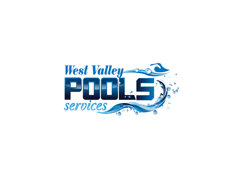 Logo Design by Private User - Entry No. 3 in the Logo Design Contest Clever Logo Design for West Valley Pool Service.