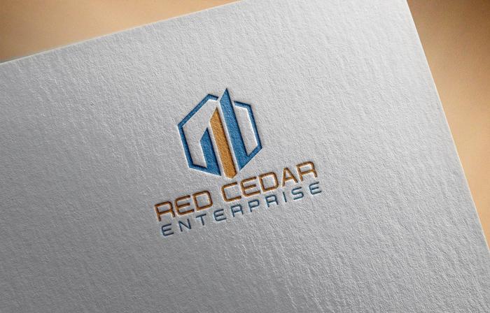 Logo Design by Mohammad azad Hossain - Entry No. 103 in the Logo Design Contest Unique Logo Design Wanted for Red Cedar Enterprise.