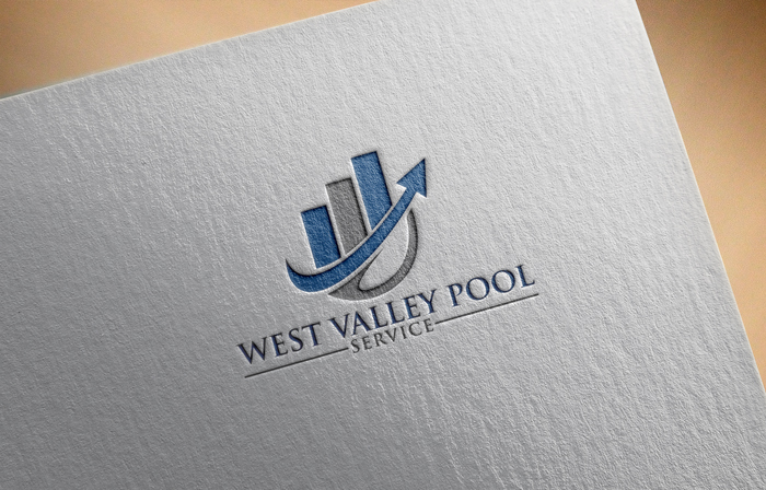 Logo Design by Mohammad azad Hossain - Entry No. 5 in the Logo Design Contest Clever Logo Design for West Valley Pool Service.