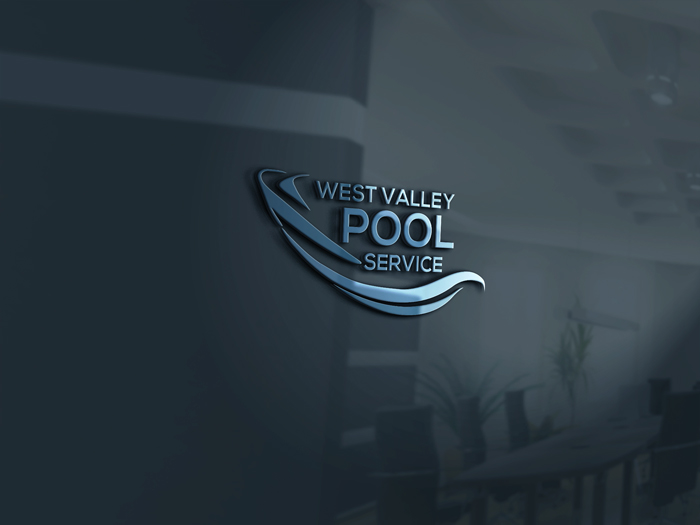 Logo Design by Mohammad azad Hossain - Entry No. 7 in the Logo Design Contest Clever Logo Design for West Valley Pool Service.