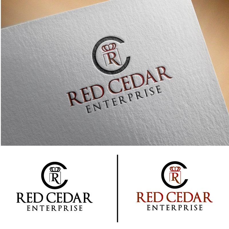Logo Design by Ajaz ahmed Sohail - Entry No. 110 in the Logo Design Contest Unique Logo Design Wanted for Red Cedar Enterprise.