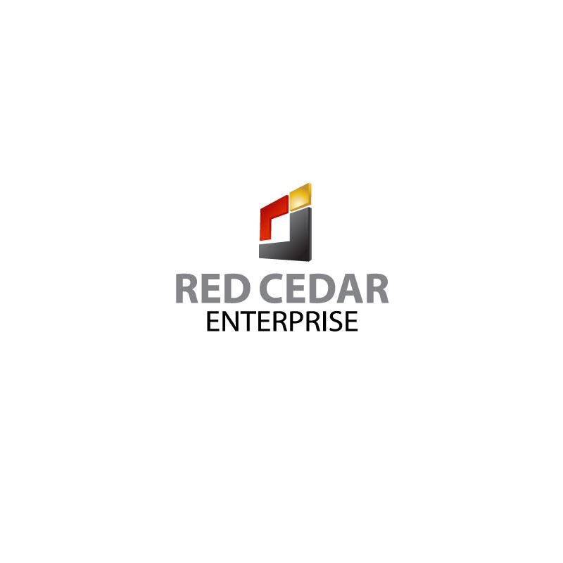 Logo Design by Ajaz ahmed Sohail - Entry No. 111 in the Logo Design Contest Unique Logo Design Wanted for Red Cedar Enterprise.