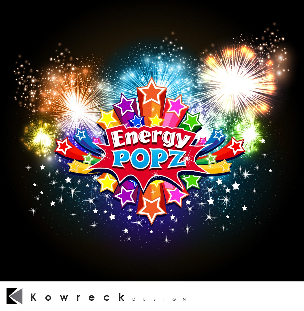 Logo Design by kowreck - Entry No. 2 in the Logo Design Contest Energy Popz Logo Design.