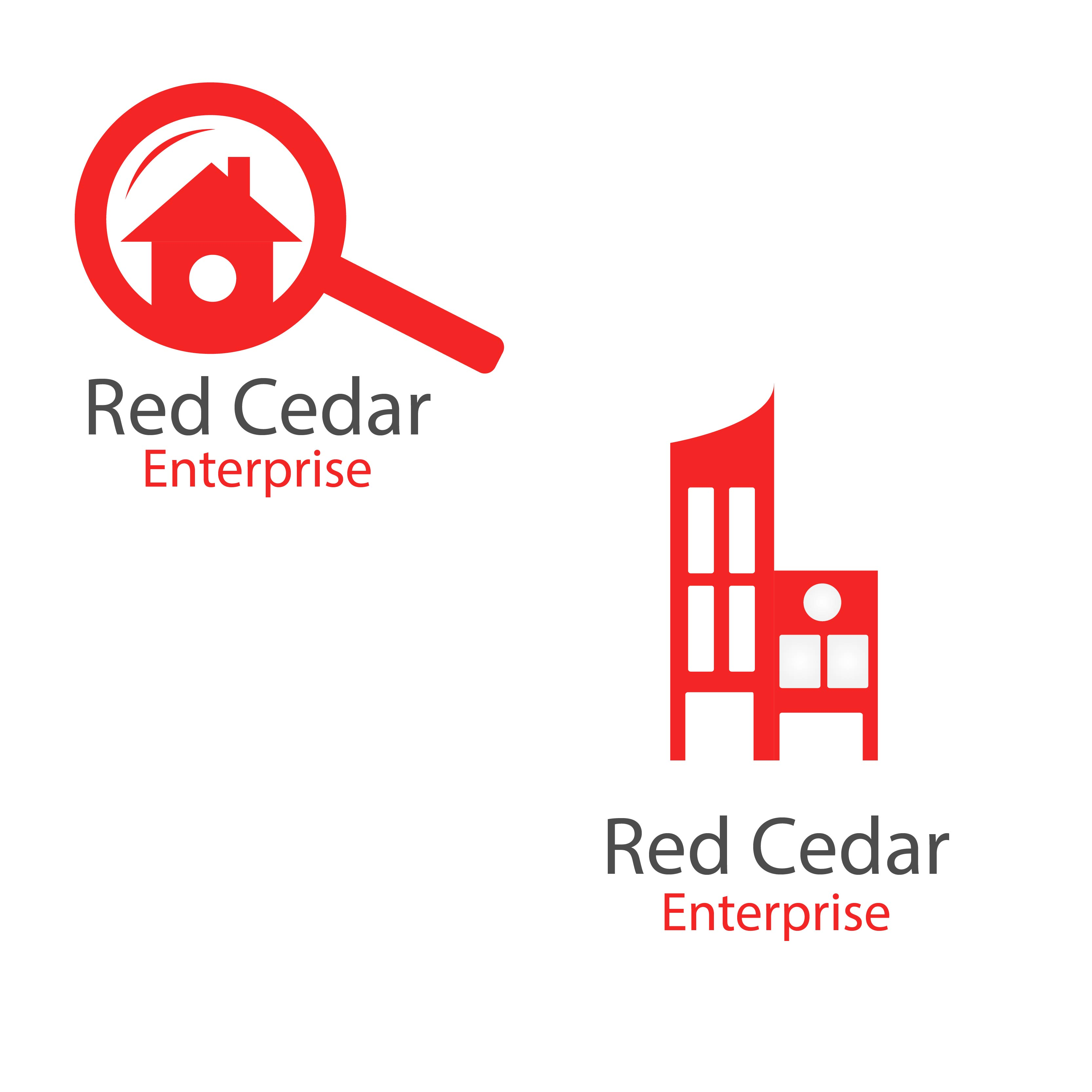 Logo Design by Muazzama Memon - Entry No. 116 in the Logo Design Contest Unique Logo Design Wanted for Red Cedar Enterprise.