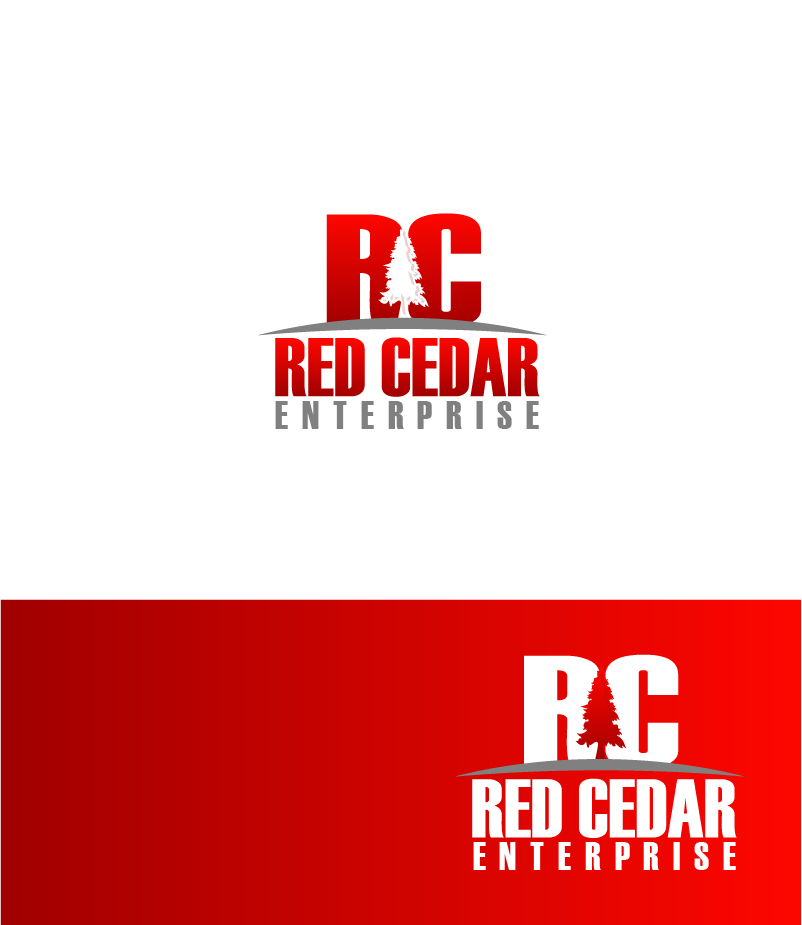 Logo Design by Private User - Entry No. 121 in the Logo Design Contest Unique Logo Design Wanted for Red Cedar Enterprise.