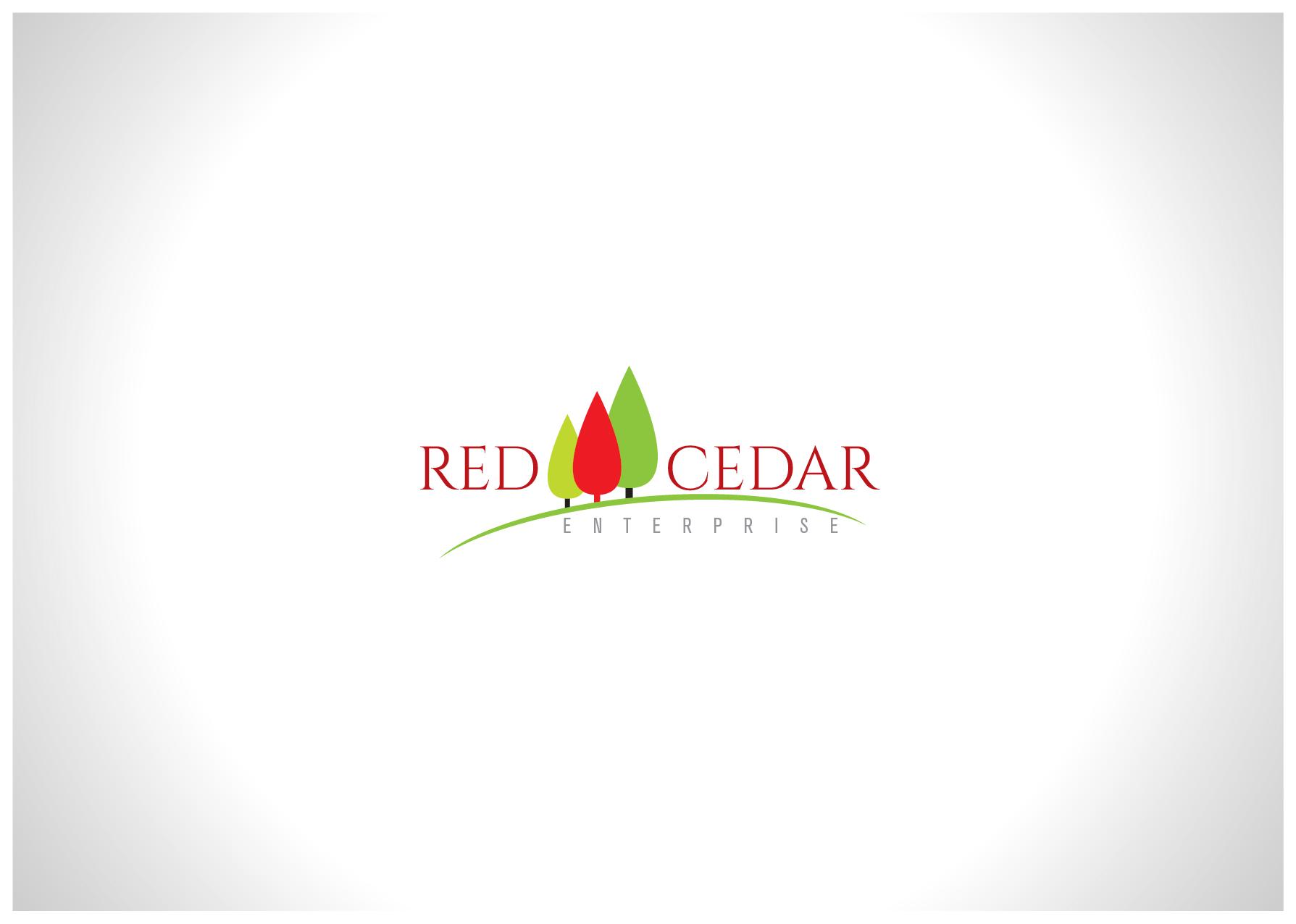 Logo Design by Farrukh Khan - Entry No. 126 in the Logo Design Contest Unique Logo Design Wanted for Red Cedar Enterprise.