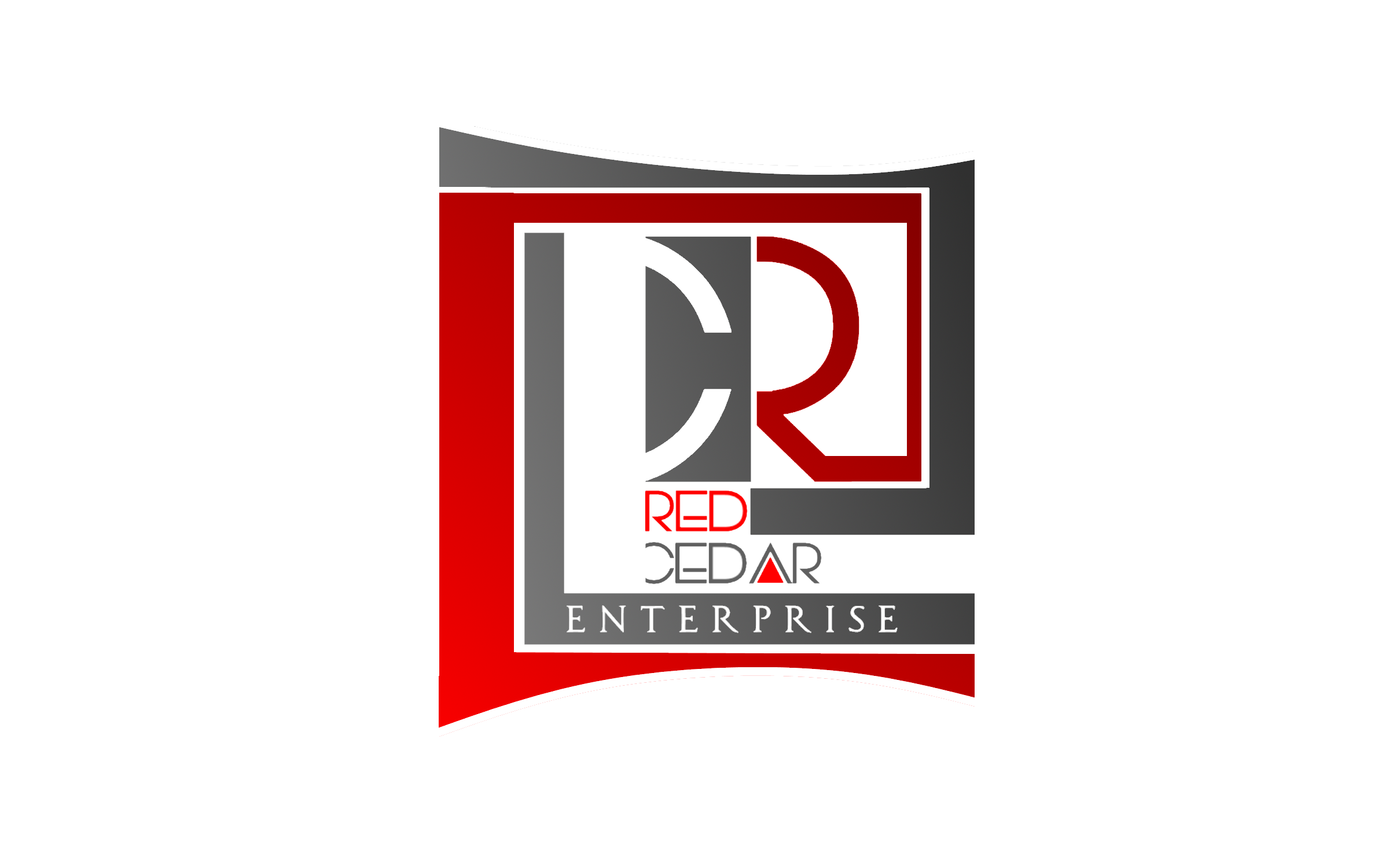 Logo Design by Roberto Bassi - Entry No. 137 in the Logo Design Contest Unique Logo Design Wanted for Red Cedar Enterprise.