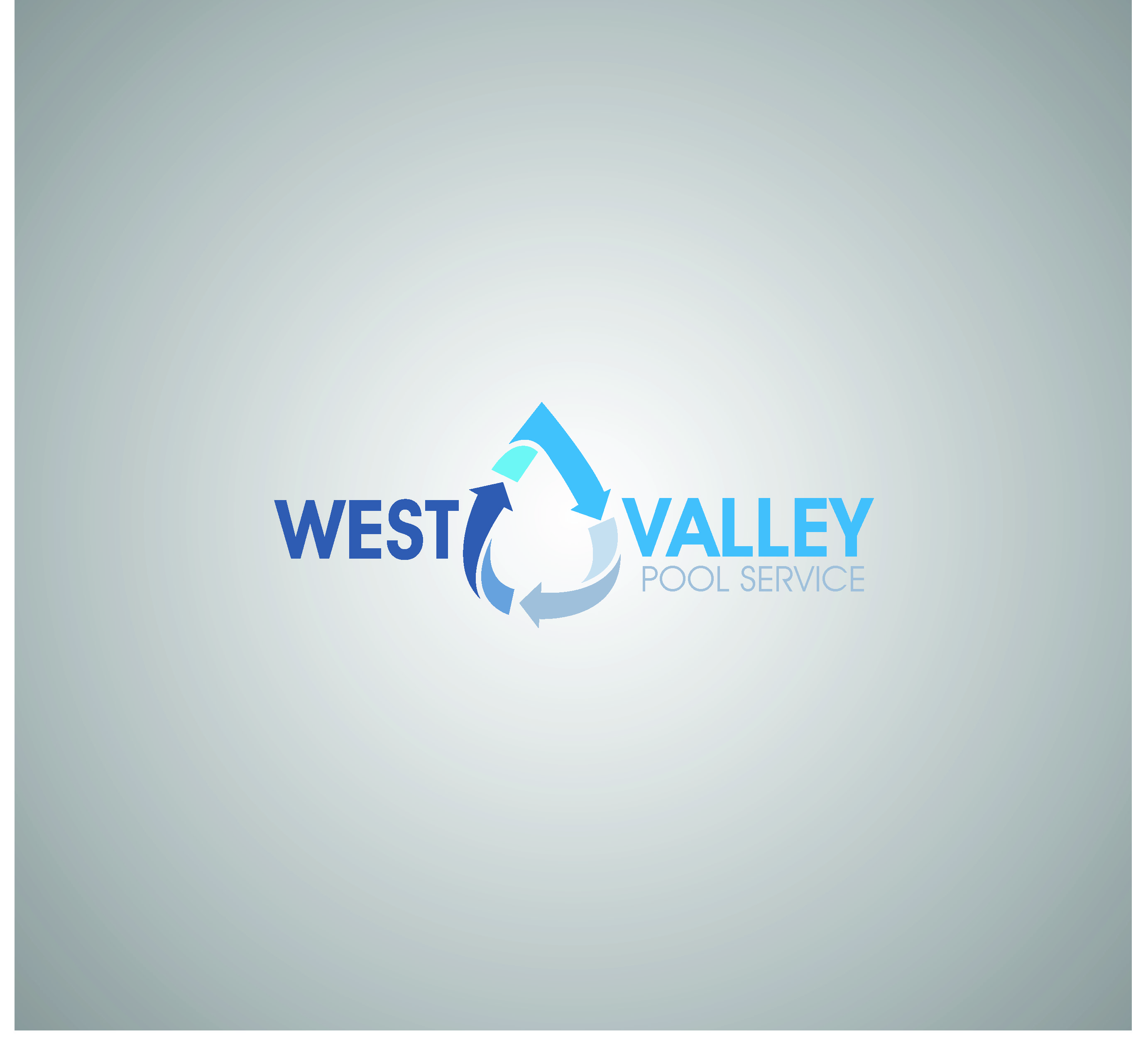 Logo Design by Sampath Gunathilaka - Entry No. 13 in the Logo Design Contest Clever Logo Design for West Valley Pool Service.