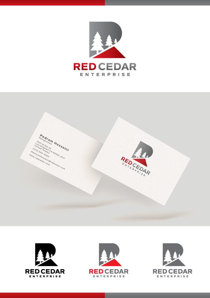 Logo Design by Tauhid Shaikh - Entry No. 142 in the Logo Design Contest Unique Logo Design Wanted for Red Cedar Enterprise.