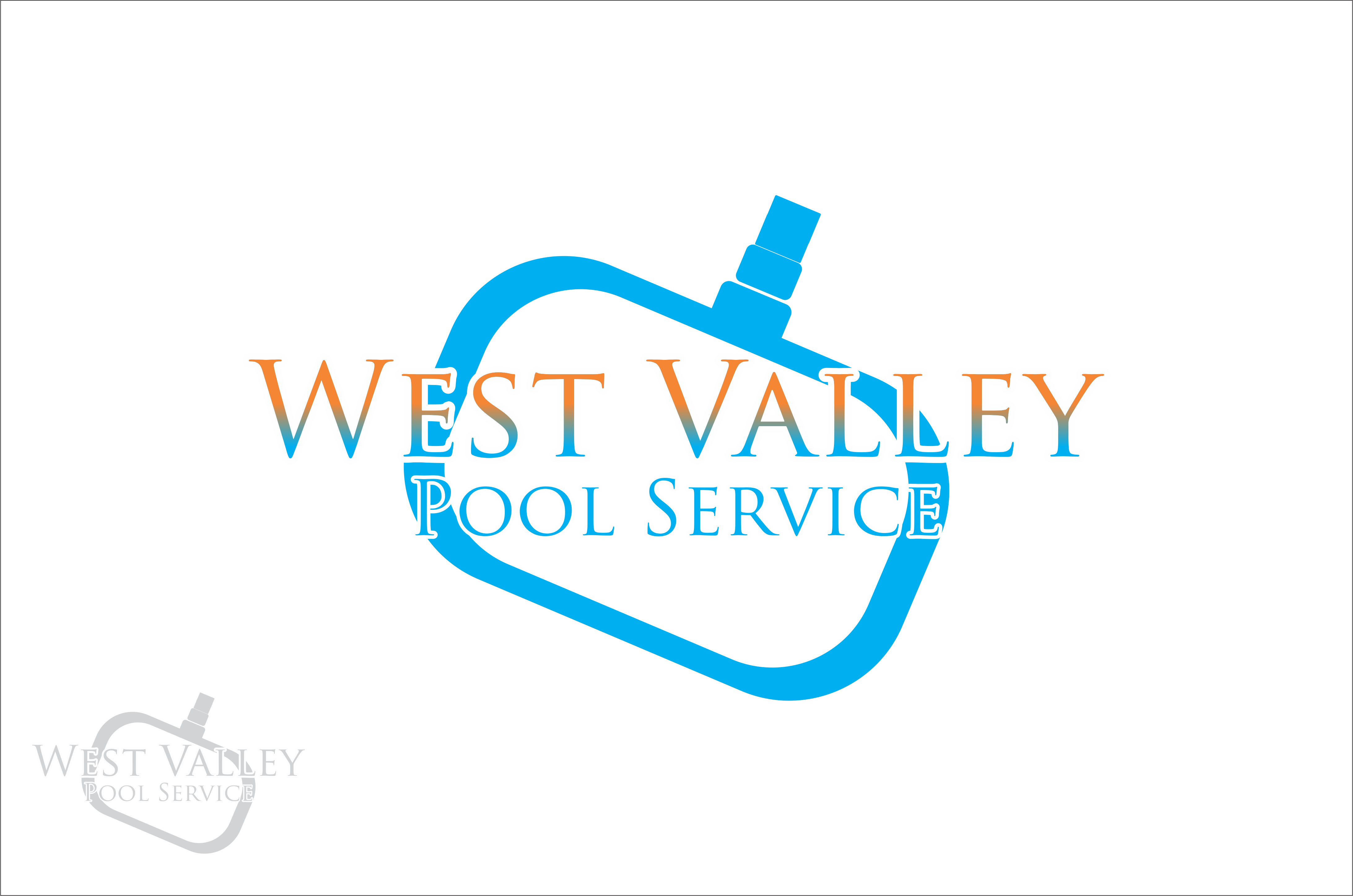 Logo Design by snow - Entry No. 22 in the Logo Design Contest Clever Logo Design for West Valley Pool Service.
