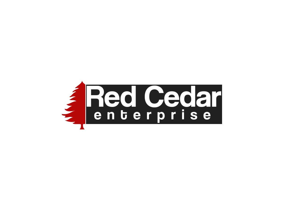 Logo Design by Ashan Sandamal - Entry No. 148 in the Logo Design Contest Unique Logo Design Wanted for Red Cedar Enterprise.
