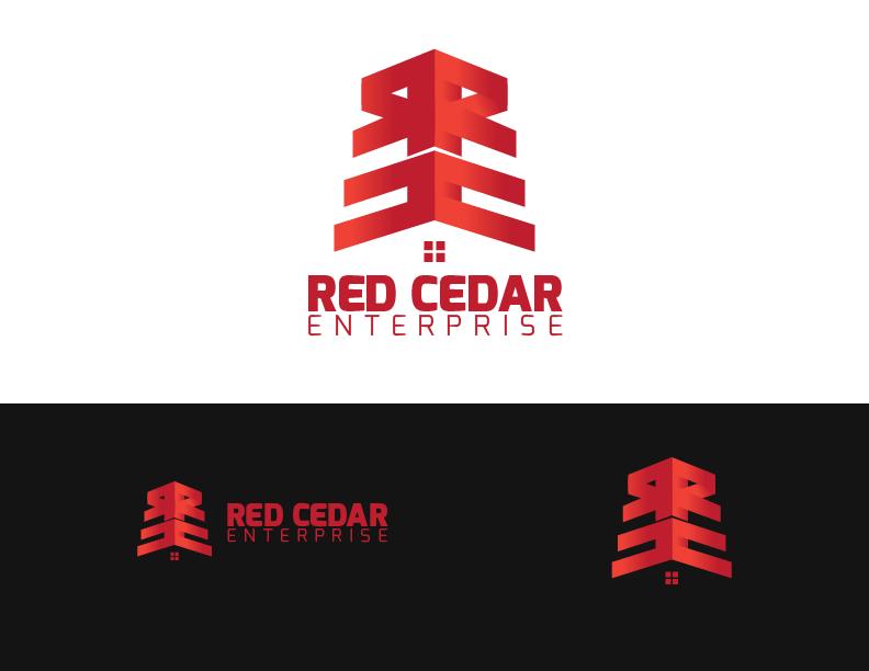 Logo Design by Andrew Velasco - Entry No. 149 in the Logo Design Contest Unique Logo Design Wanted for Red Cedar Enterprise.