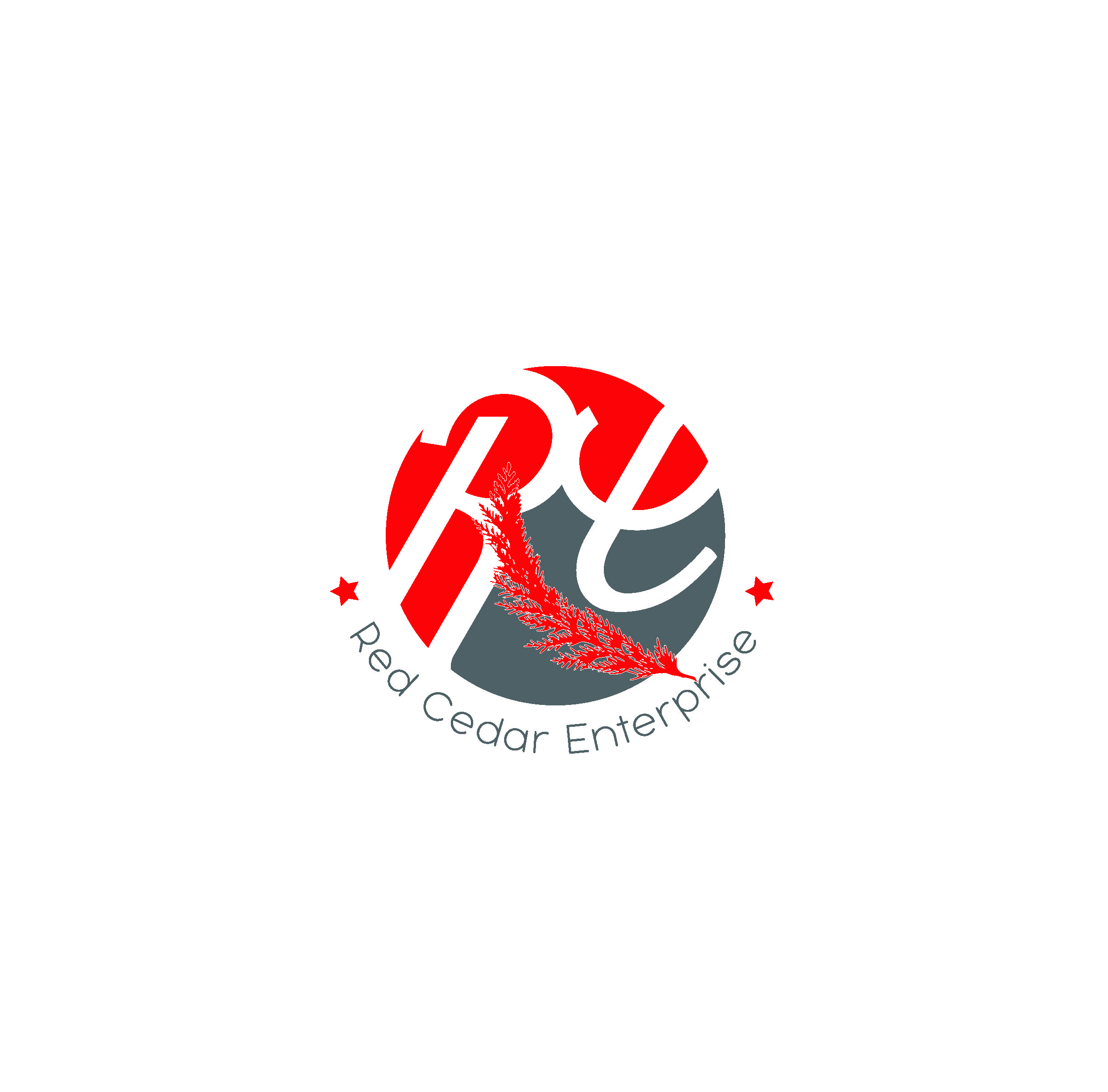Logo Design by Sampath Gunathilaka - Entry No. 153 in the Logo Design Contest Unique Logo Design Wanted for Red Cedar Enterprise.
