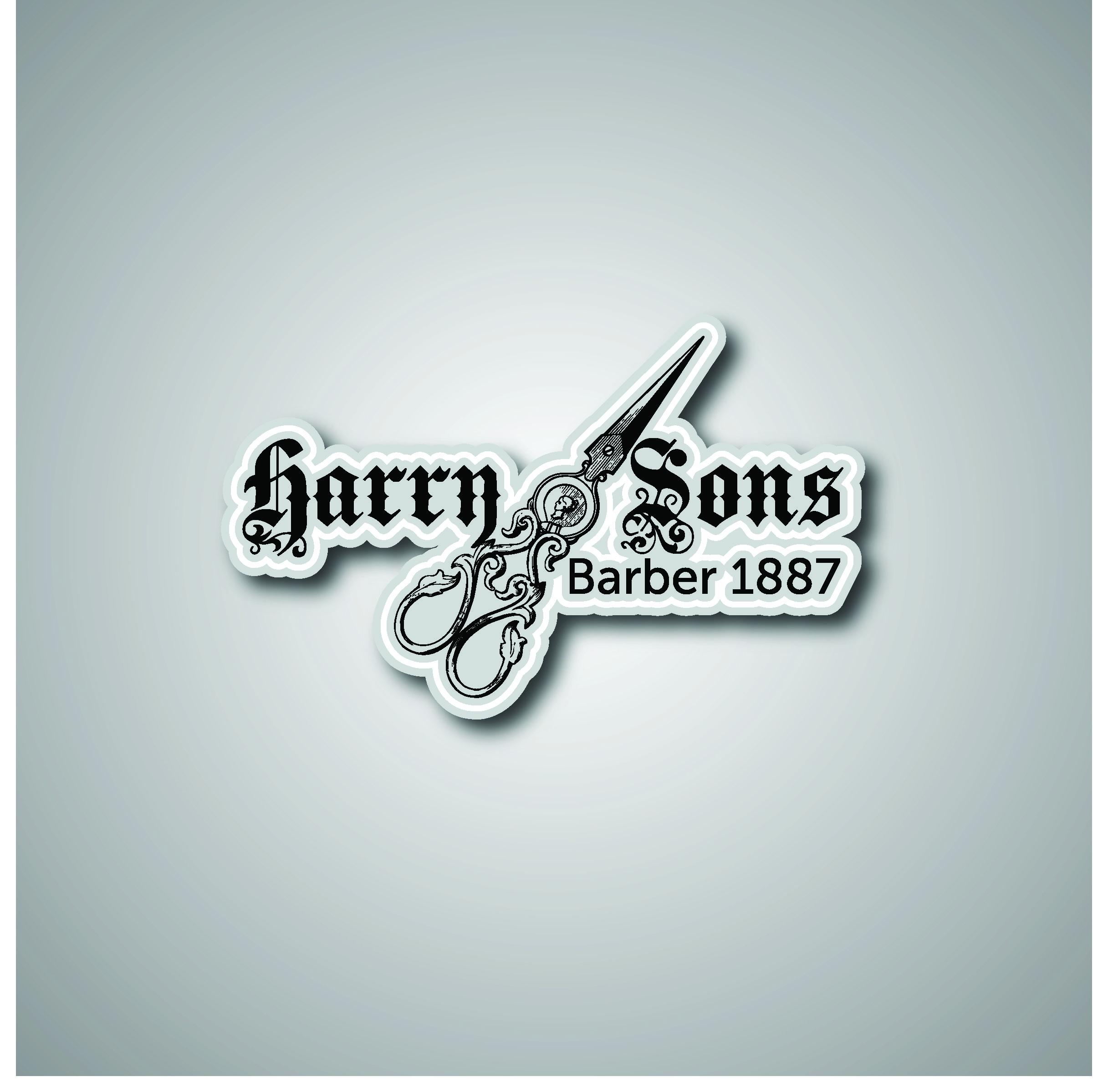 Logo Design by Sampath Gunathilaka - Entry No. 78 in the Logo Design Contest Captivating Logo Design for Harry and Sons Barber.