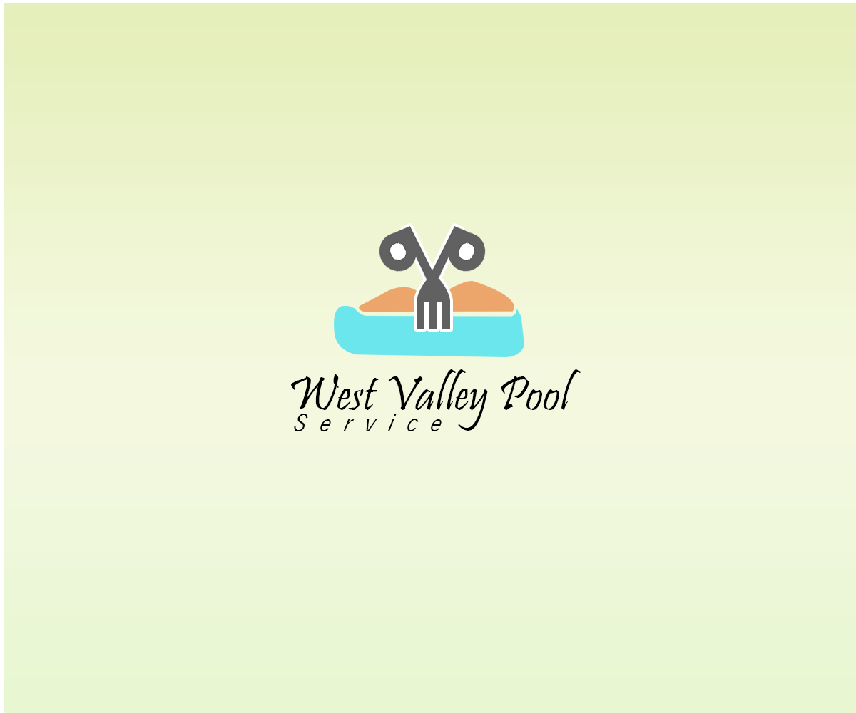 Logo Design by Sohaib Ali Khan - Entry No. 37 in the Logo Design Contest Clever Logo Design for West Valley Pool Service.