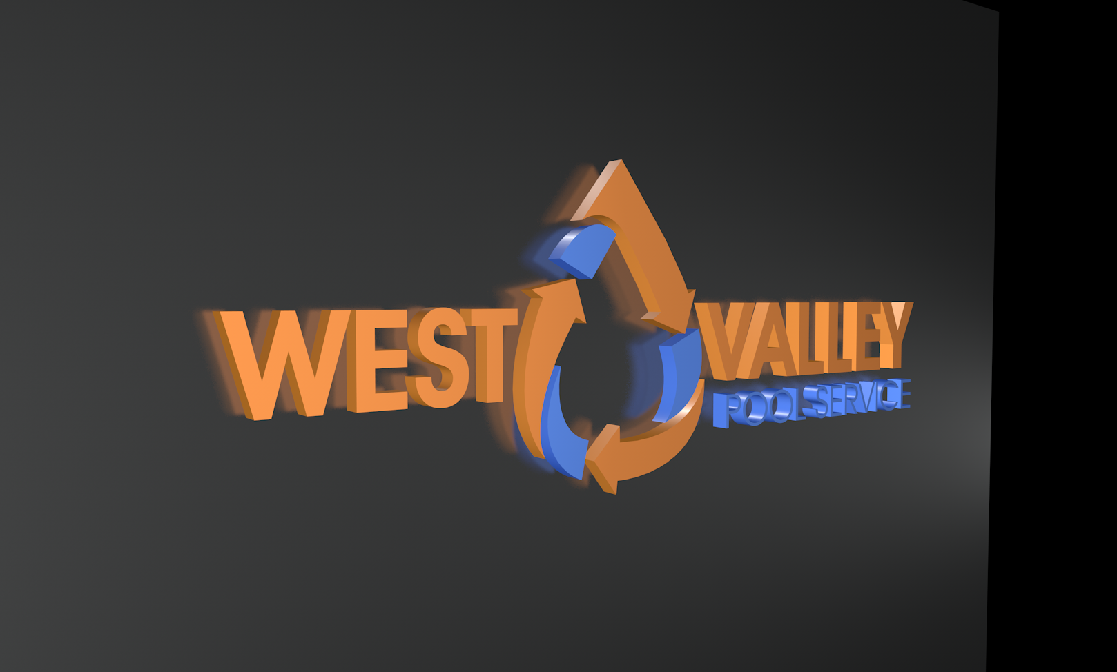 Logo Design by Sampath Gunathilaka - Entry No. 38 in the Logo Design Contest Clever Logo Design for West Valley Pool Service.