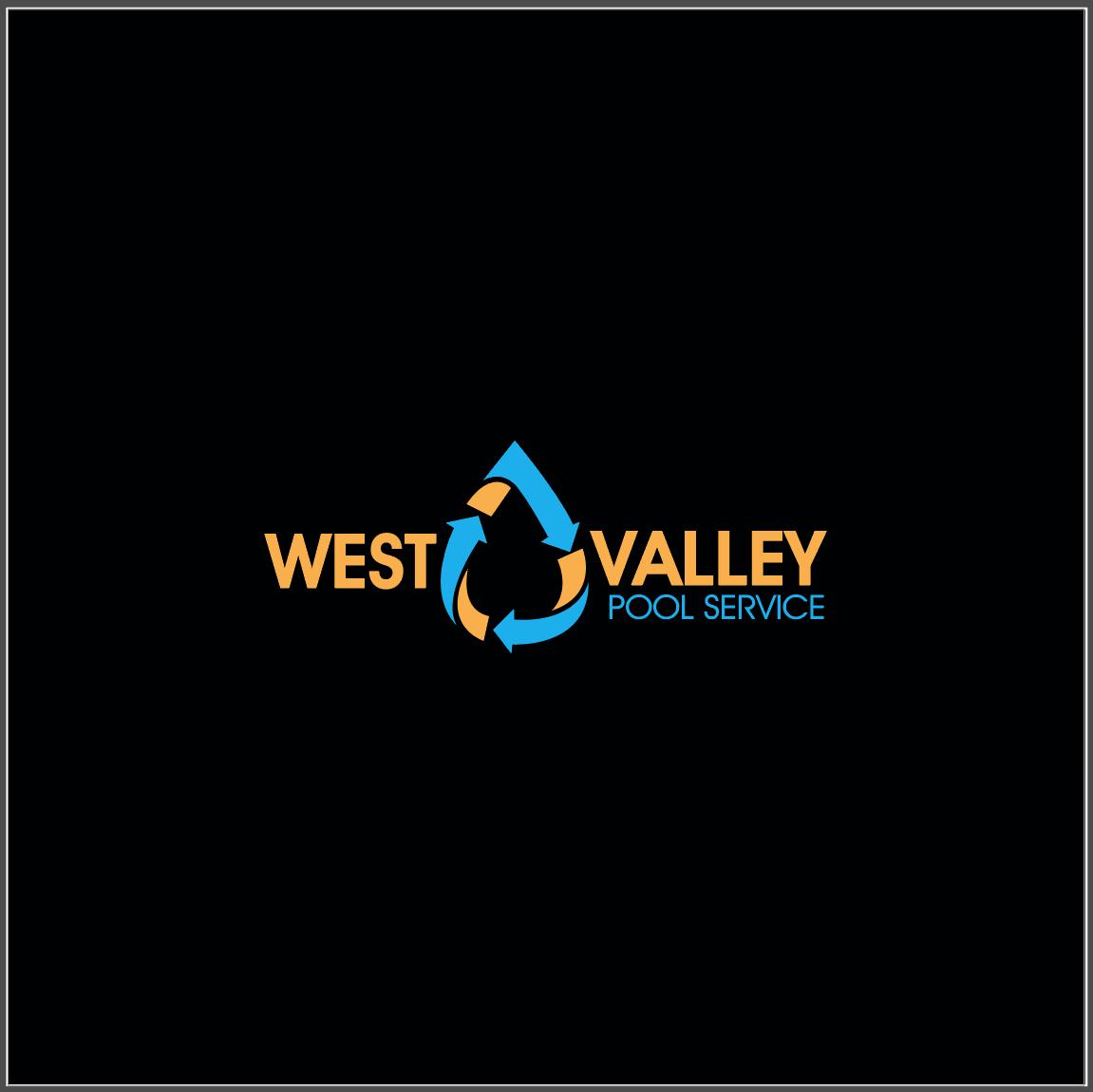 Logo Design by Sampath Gunathilaka - Entry No. 39 in the Logo Design Contest Clever Logo Design for West Valley Pool Service.