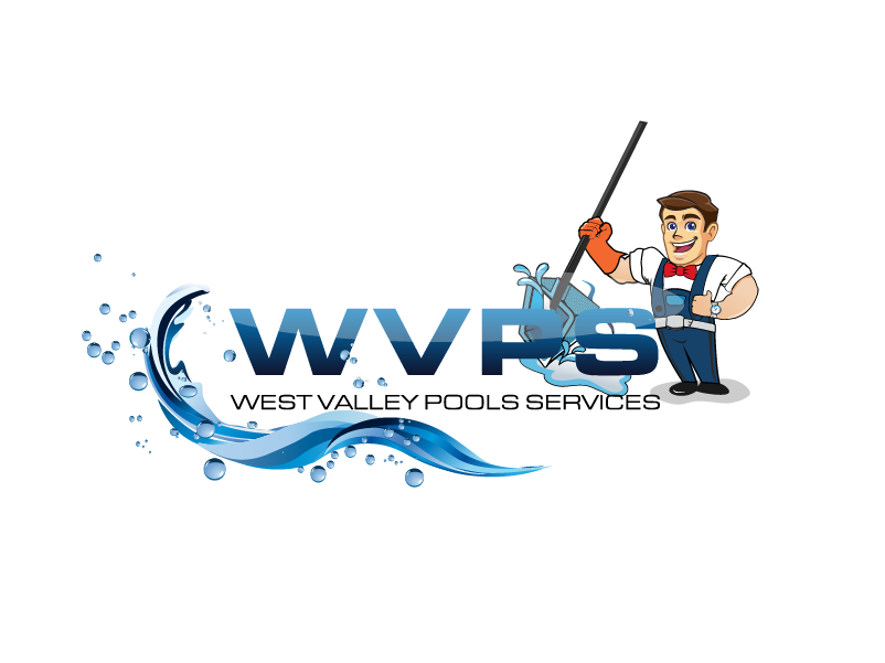 Logo Design by Private User - Entry No. 43 in the Logo Design Contest Clever Logo Design for West Valley Pool Service.