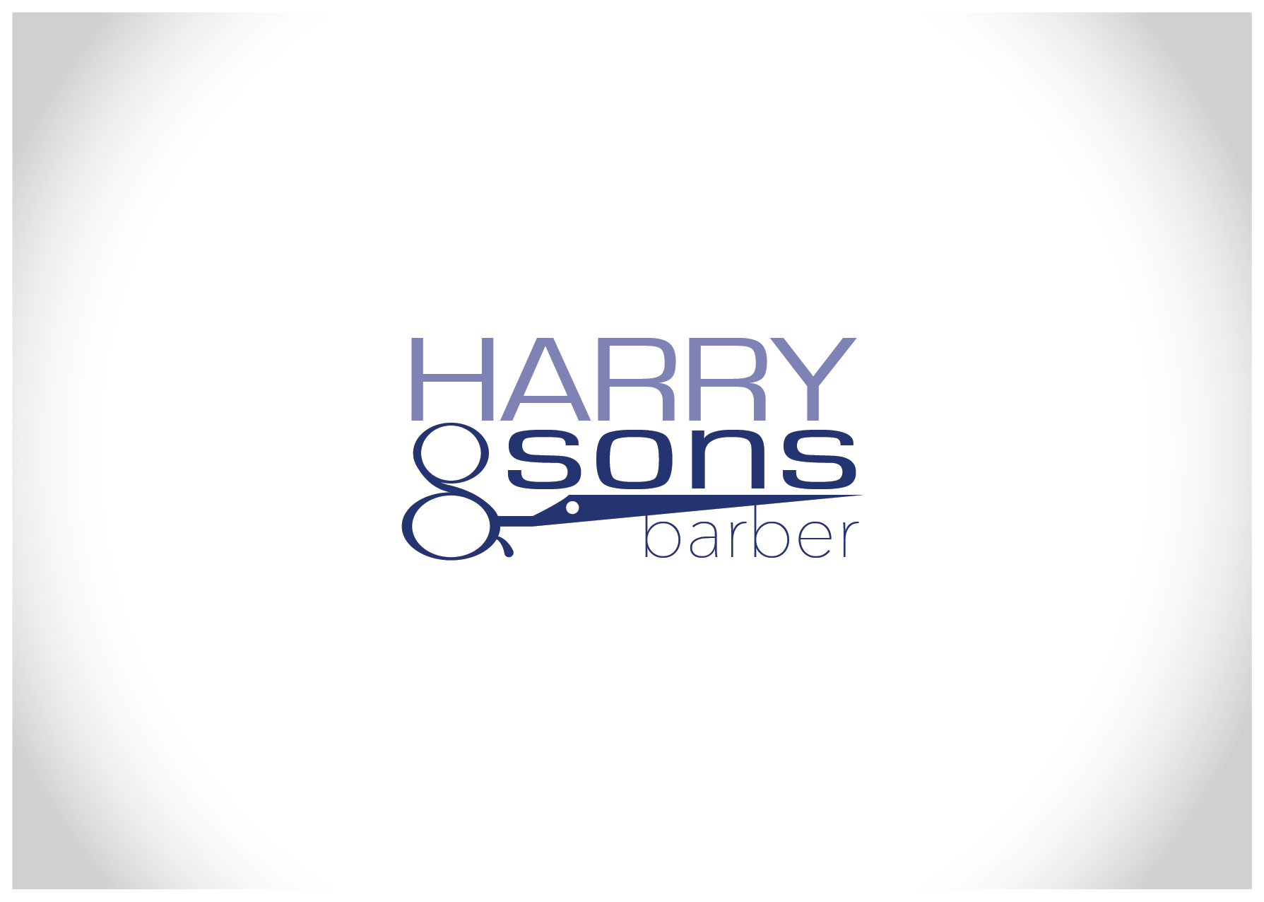 Logo Design by Farrukh Khan - Entry No. 88 in the Logo Design Contest Captivating Logo Design for Harry and Sons Barber.