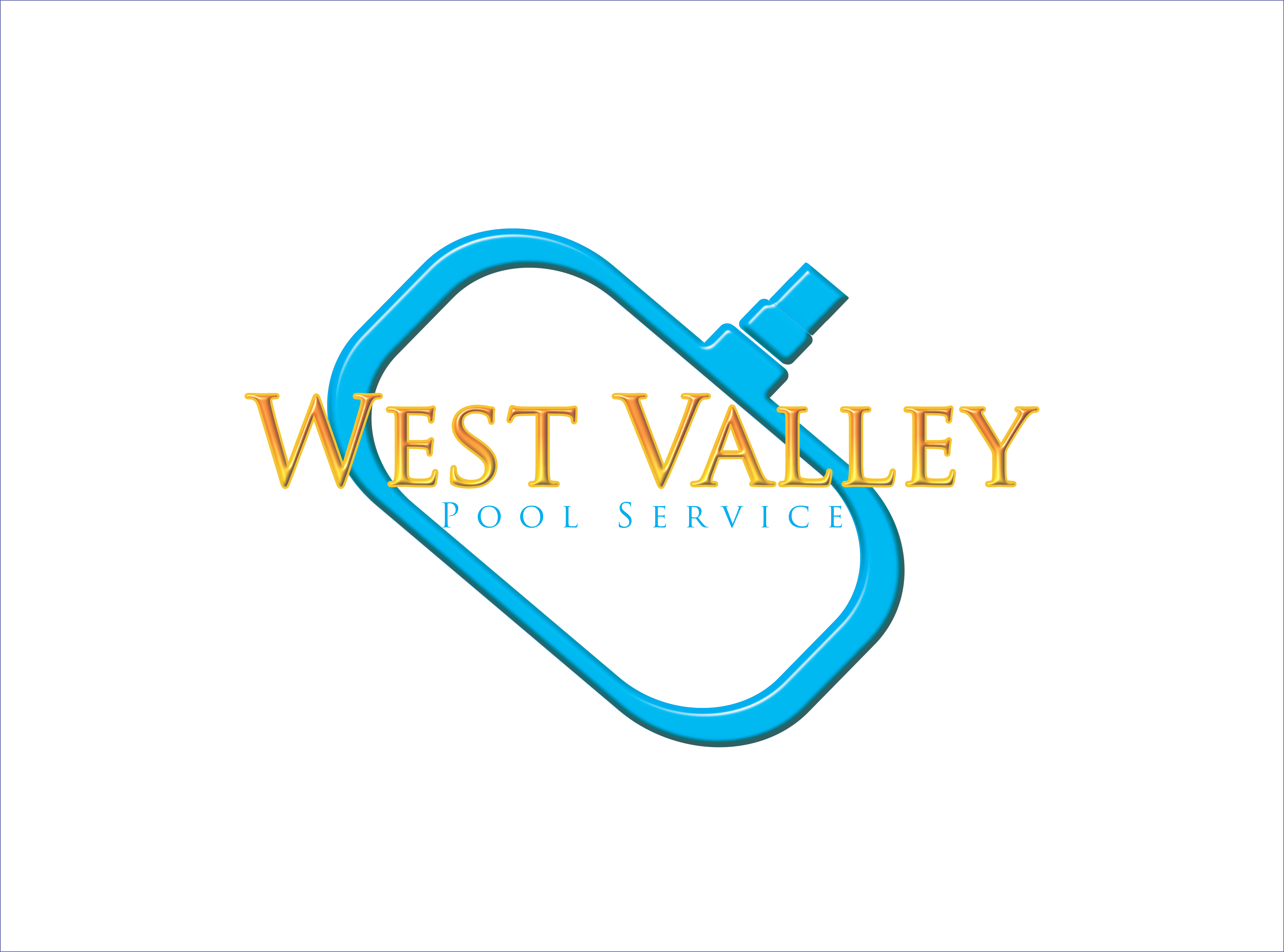 Logo Design by snow - Entry No. 48 in the Logo Design Contest Clever Logo Design for West Valley Pool Service.