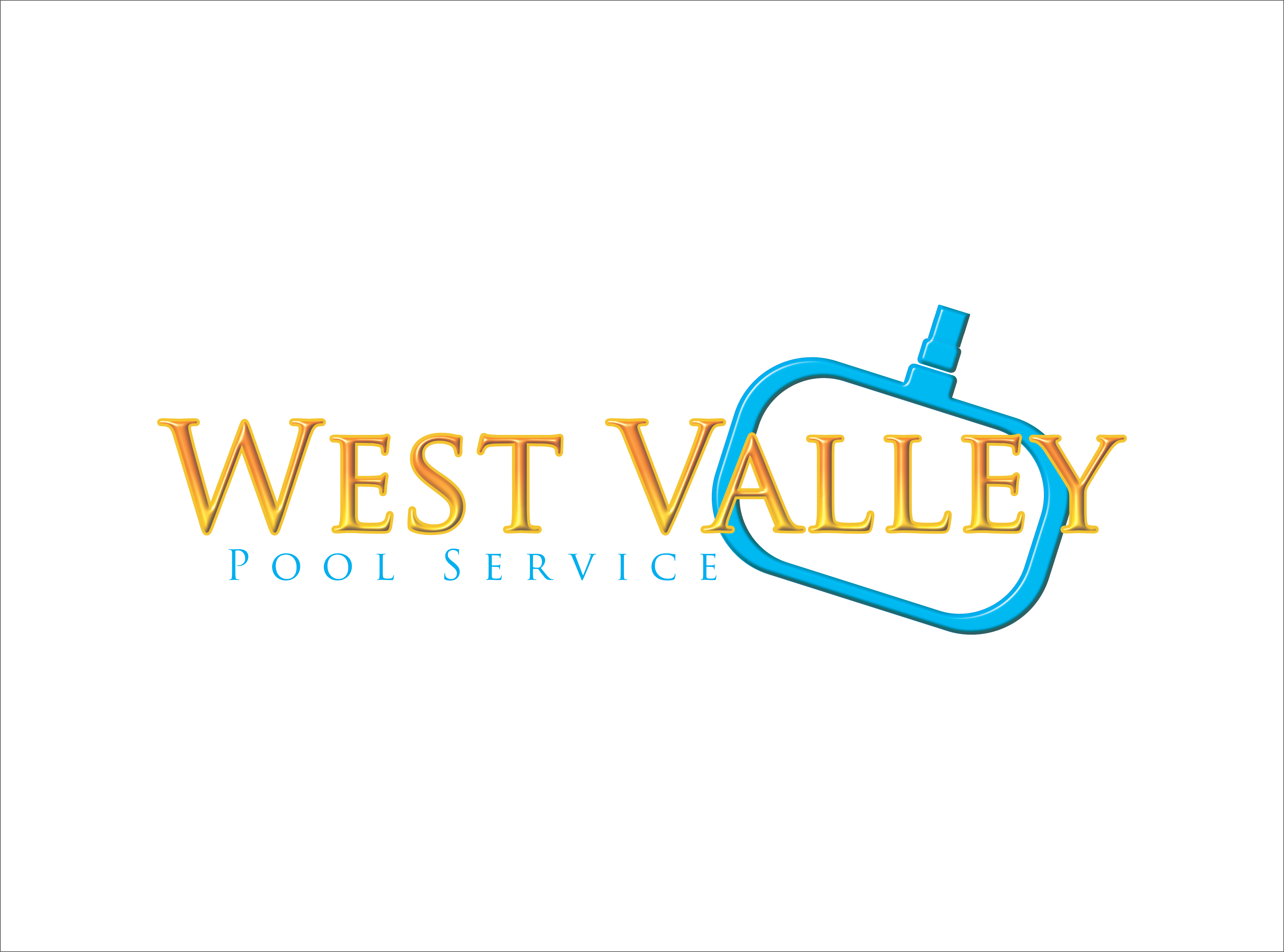 Logo Design by snow - Entry No. 49 in the Logo Design Contest Clever Logo Design for West Valley Pool Service.