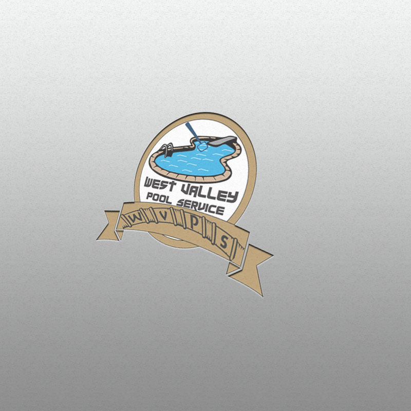 Logo Design by Umair ahmed Iqbal - Entry No. 51 in the Logo Design Contest Clever Logo Design for West Valley Pool Service.