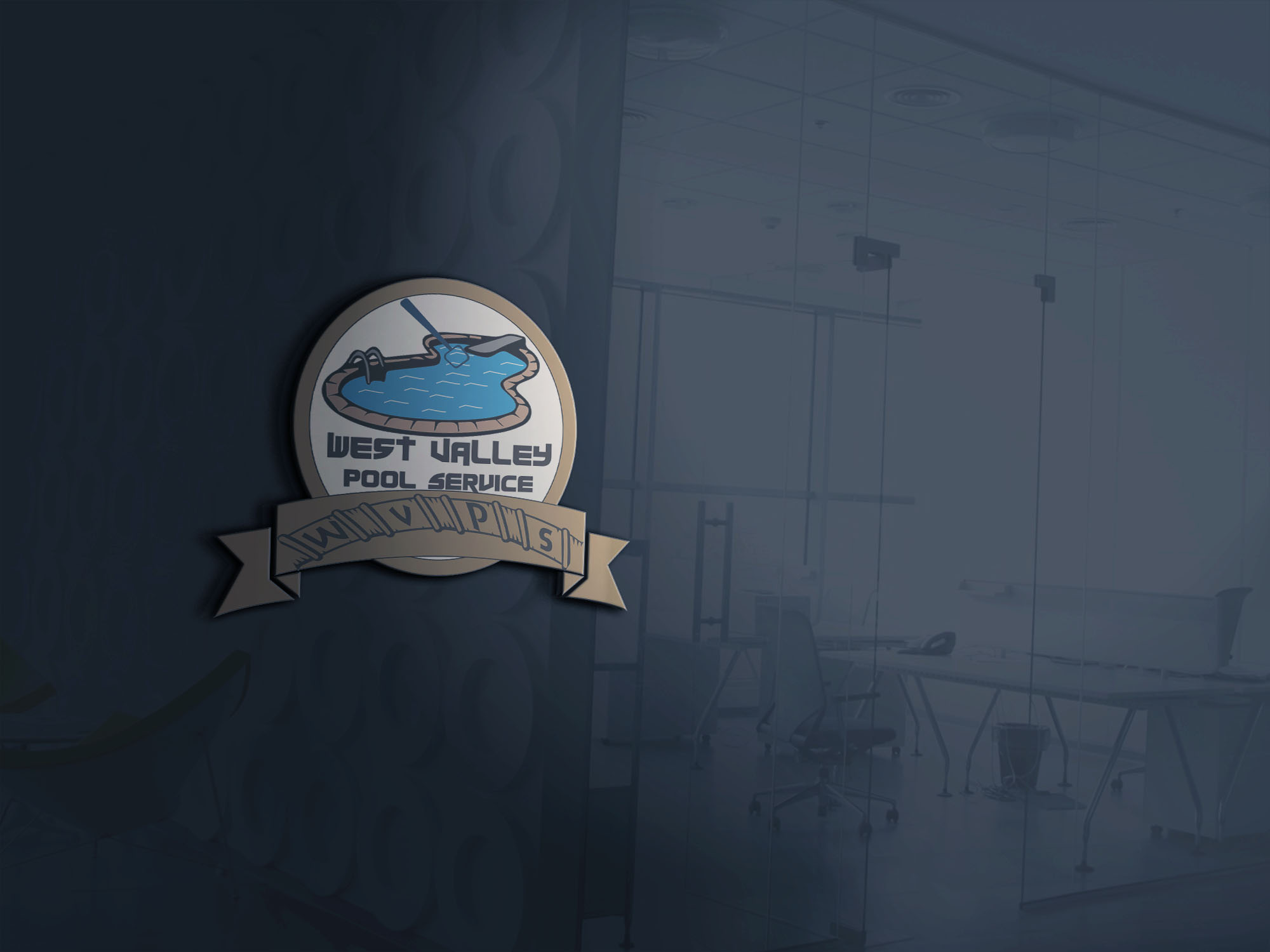 Logo Design by Umair ahmed Iqbal - Entry No. 52 in the Logo Design Contest Clever Logo Design for West Valley Pool Service.
