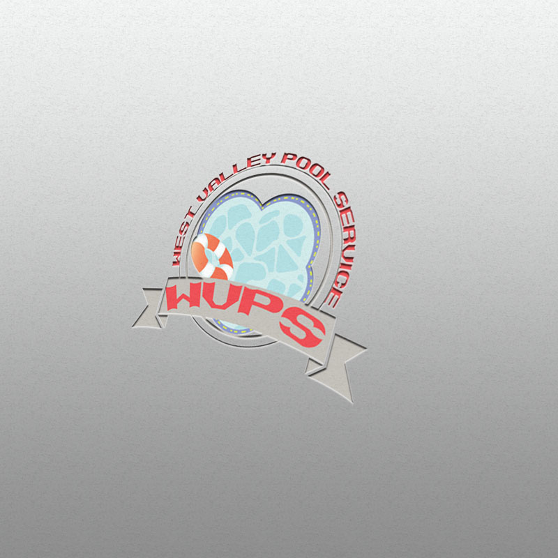 Logo Design by Umair ahmed Iqbal - Entry No. 54 in the Logo Design Contest Clever Logo Design for West Valley Pool Service.