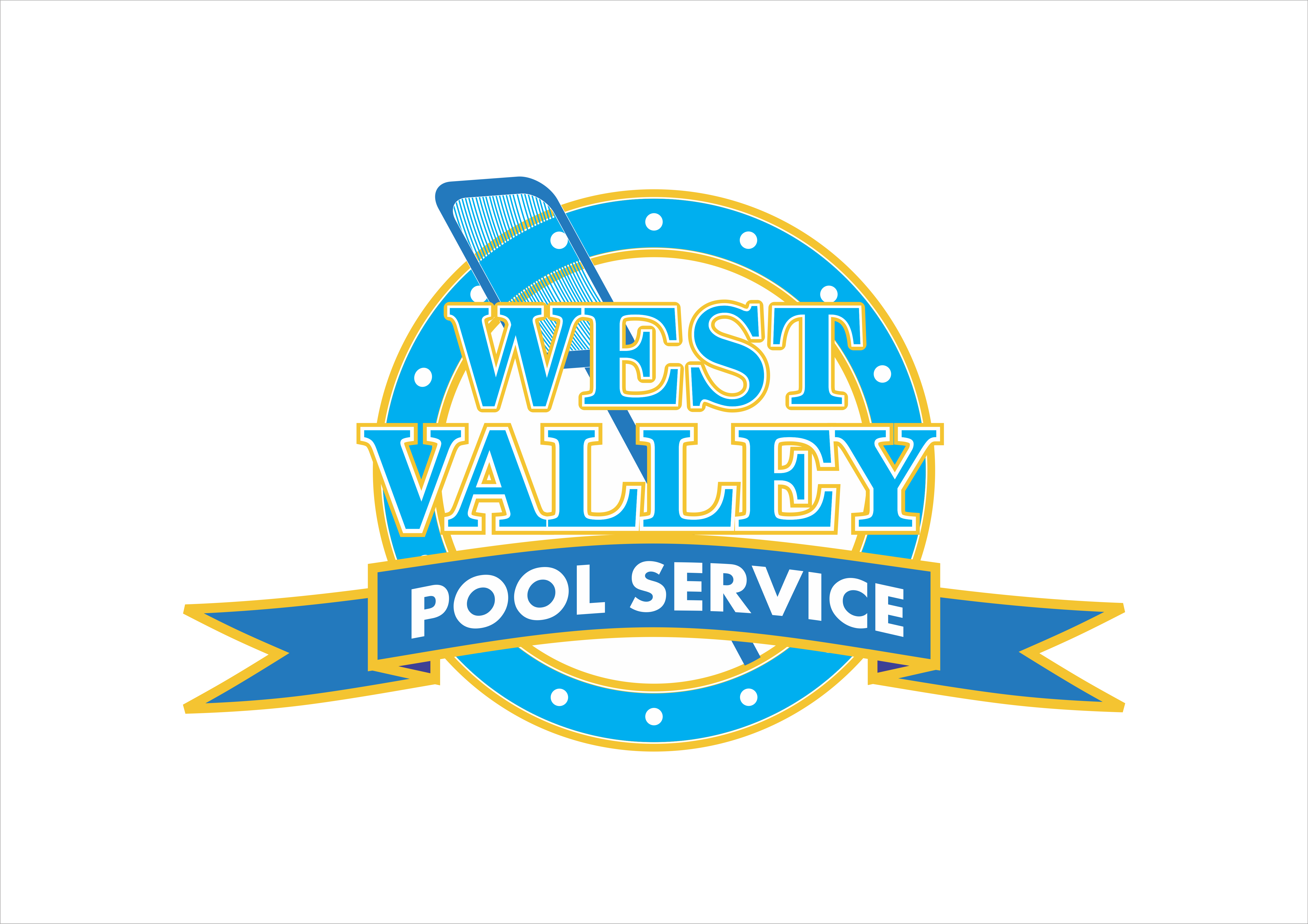 Logo Design by snow - Entry No. 59 in the Logo Design Contest Clever Logo Design for West Valley Pool Service.