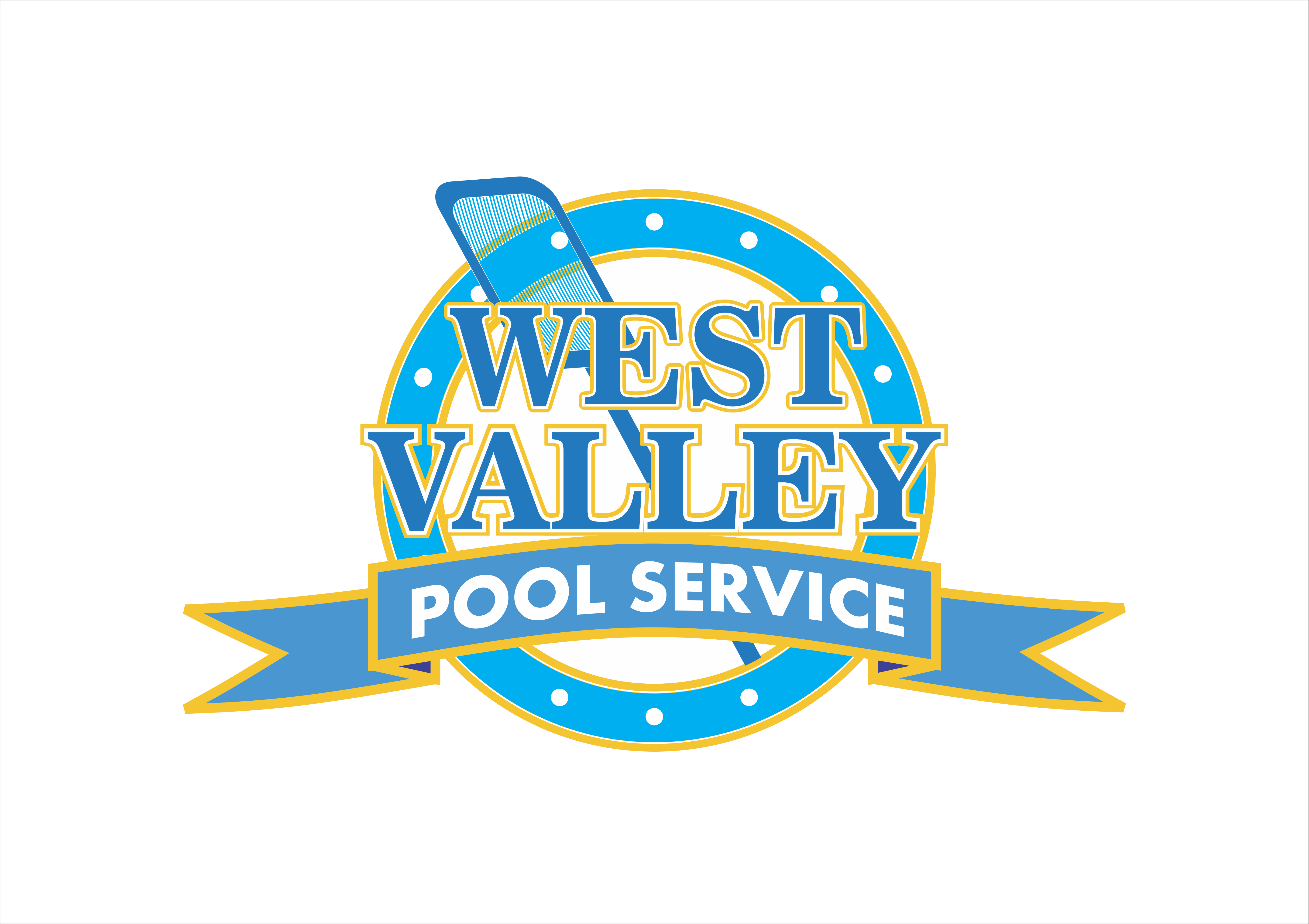 Logo Design by snow - Entry No. 60 in the Logo Design Contest Clever Logo Design for West Valley Pool Service.