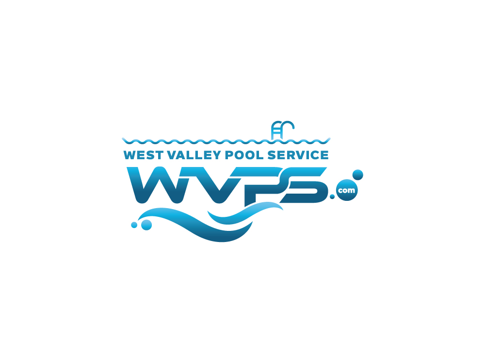 Logo Design by Tauhid Shaikh - Entry No. 65 in the Logo Design Contest Clever Logo Design for West Valley Pool Service.