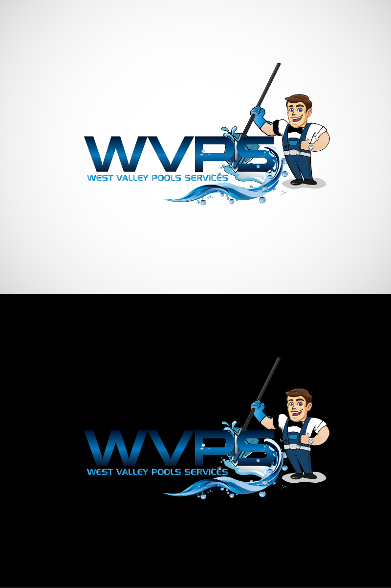 Logo Design by Private User - Entry No. 68 in the Logo Design Contest Clever Logo Design for West Valley Pool Service.