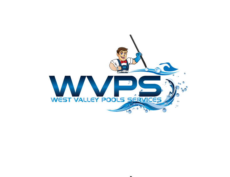Logo Design by Private User - Entry No. 72 in the Logo Design Contest Clever Logo Design for West Valley Pool Service.