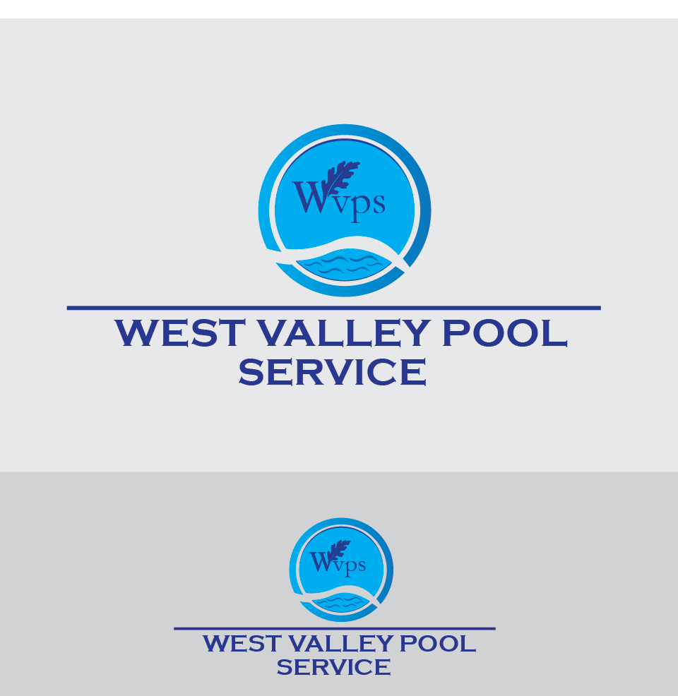 Logo Design by Jastinejay Manliguez - Entry No. 74 in the Logo Design Contest Clever Logo Design for West Valley Pool Service.