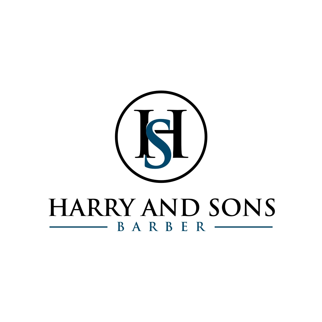 Logo Design by untung - Entry No. 103 in the Logo Design Contest Captivating Logo Design for Harry and Sons Barber.